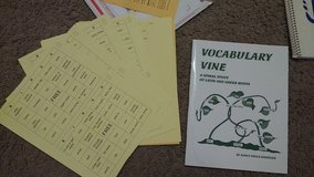 Homeschooling:  Vocabulary Vine, A Spiral Study of Latin and Greek Roots in Baytown, Texas