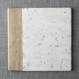 Crate & Barrel * Marble and Wood Square Platter in San Clemente, California