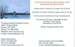 church services in Watertown, New York