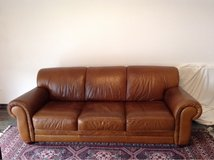 Leather Couch in Ramstein, Germany