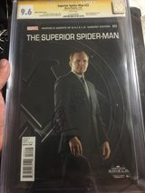 Superior Spider Man #22 signed by Clark Gregg ( Agents of SHIELD Agent Colson) in Okinawa, Japan