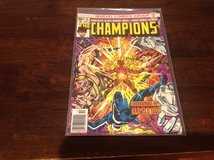 The Champions Bronze Age Comic # 8 Awesome Comic Low Numbered Key issue in Okinawa, Japan