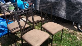 Table and chairs in Fort Riley, Kansas
