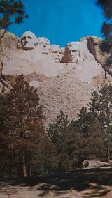 70's Mt Rushmore litho in Warner Robins, Georgia