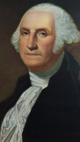 70's George Washington litho in Warner Robins, Georgia