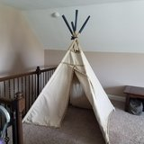 pottery barn teepee LARGE in Pleasant View, Tennessee