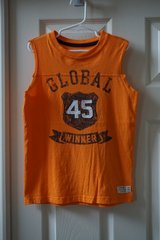 Boys Carters Orange Global Winner Muscle Tank Size 6 in Joliet, Illinois