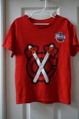 Boys Chicago Blackhawks Graphic T-Shirt Size 6/7 in Joliet, Illinois