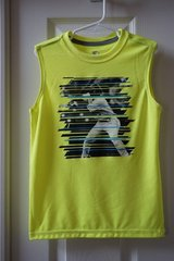 Boys Starter Yellow Baseball Graphic Muscle Tank Size 6/7 in Joliet, Illinois