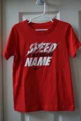 Boys Nike Red Speed Is My Middle Name Graphic T-Shirt Size 7 in Joliet, Illinois