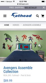 Avengers Assemble Fathead Decor in Fort Campbell, Kentucky