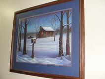 "ARTIST BILL WOLFE ""DECEMBER DREAMS"" 1988 SIGNED & NUMBERED in Camp Lejeune, North Carolina"