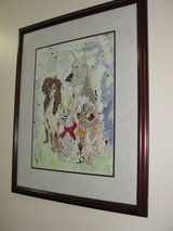 """ALL DOGS GO TO HEAVEN"" FRAMED ART WORK in Camp Lejeune, North Carolina"