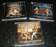 3 CD's The Music Of Nashville TV Show Soundtrack Lot Season 1 & 2 Connie Britton in Kingwood, Texas