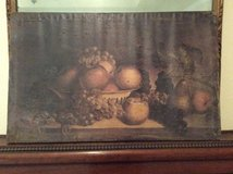 Old World Fruit on Canvas, tin floral panels, (bundle price) in Baytown, Texas