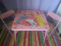 Disney Princess Table in Yucca Valley, California
