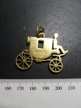 Coach Carriage Charm Tag Logo Keychain Pendant in Bolingbrook, Illinois