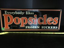 Porcelain signs in Vacaville, California