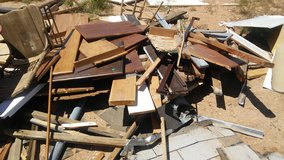 Free Scrap Wood in Yucca Valley, California