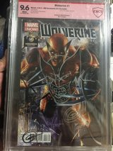 Wolverine #1 - WW Sacramento 2014 signed and remarked in Okinawa, Japan