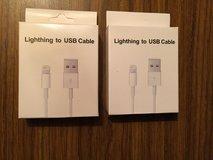 Cable charges for iPhone or iPad in Bartlett, Illinois