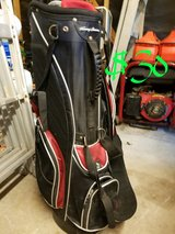 Golf bag with stand in Kingwood, Texas