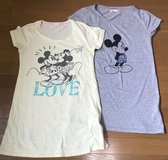 Disney Mickey Minnie Mouse  Womens T-Shirts Size Large in Okinawa, Japan
