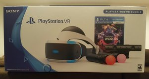NEW Sony PLAYSTATION VR LAUNCH Bundle WORLDS Free Shipping PSVR 4 PS4 in San Diego, California