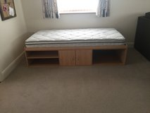 twin bed with mattress in Lakenheath, UK