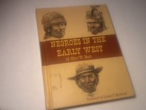 Vintage Book - Negros In The Early West in Fort Campbell, Kentucky