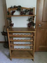 Oak Wine Rack. in Oswego, Illinois