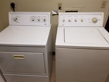Washer and dryer set in Fort Irwin, California