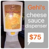 Gerl's cheese or chili dispenser in Lawton, Oklahoma