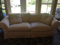 Ivory couch for sale! Great shape in Cherry Point, North Carolina