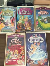 LOT OF 5 VINTAGE DISNEY MASTERPIECE COLLECTION VHS in 29 Palms, California