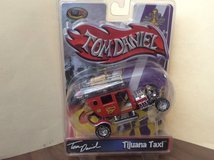 Toy Zone Tom Daniels Tijuana Taxi Die Cast Car 99235 New on Card in 29 Palms, California