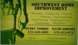 Southwest Home Improvement in Alamogordo, New Mexico