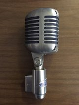 Shure 556s 1950's Unidyne Microphone Mic Blue Silk Chicago Vintage in 29 Palms, California