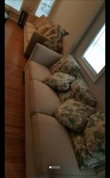 Huge Sectional with ottoman in Camp Pendleton, California