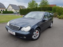 2002 MERCEDES C200 CDI TURBO DIESEL*NEW INSPECTION *NEW BREAKS &TIRES in Spangdahlem, Germany