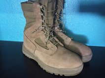 Belleville Men's Gore-Tex Military Combat Boots Tan Size 9.5R in 29 Palms, California