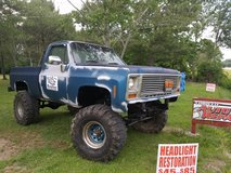 79 Chevy K10 with 3/4 ton axles in Camp Lejeune, North Carolina