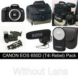 Canon EOS Rebel T4i  w/ Rode VideoMic Pro and Accessories (No Lens) in Stuttgart, GE