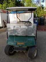 Ezgo good cart with new batteries in Travis AFB, California