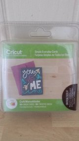 New!  Cricut Simple Everyday Cards Cartridge in Plainfield, Illinois