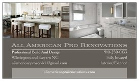 All American Pro Renovation and Restoration in Wilmington, North Carolina