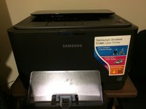 Samsung color laser printer in Okinawa, Japan