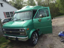 1993 chevy g20 van low miles new trans in Fort Campbell, Kentucky