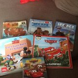 Lightning McQueen/ Ice Age books in Spangdahlem, Germany