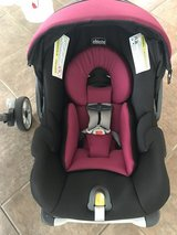 Chicco car seat with base and stroller in Temecula, California